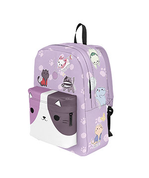 275611885bb This backpack is the PURRRRfect place to store your books! It s going to  look PAWsitively CLAWsome on you!